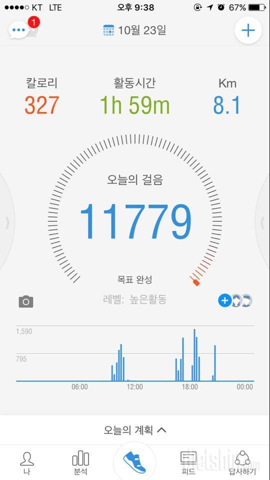 30일 만보 걷기 35일차 성공!