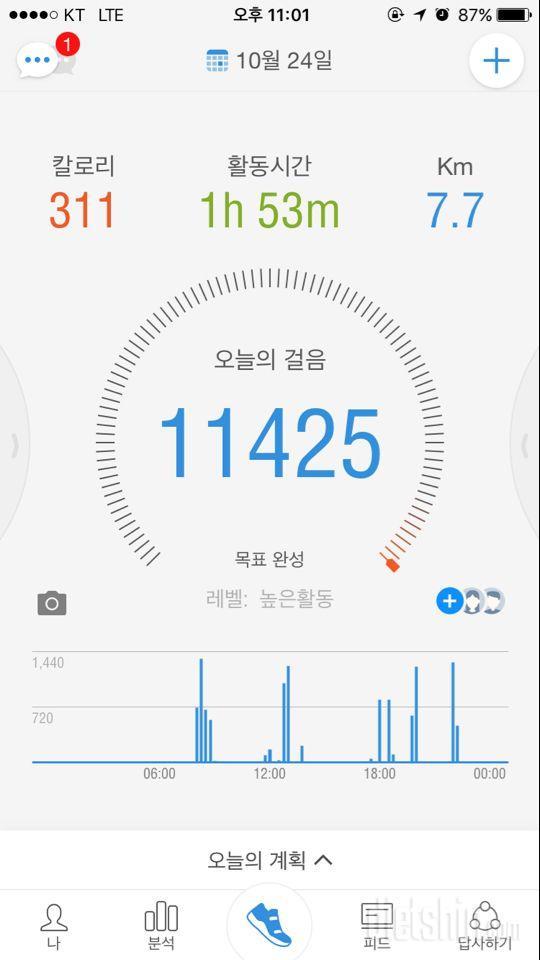 30일 만보 걷기 36일차 성공!