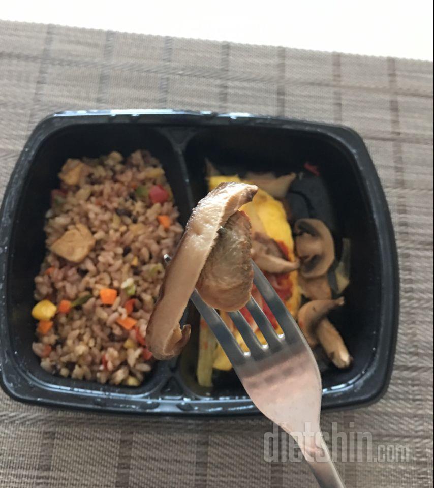 탄두리닭가슴살현미밥&참치오믈렛