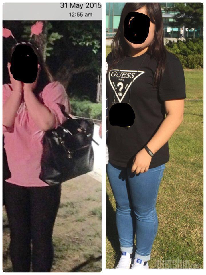평생통통뚱뚱하다가 85에서 58kg 숫자뒤짚기