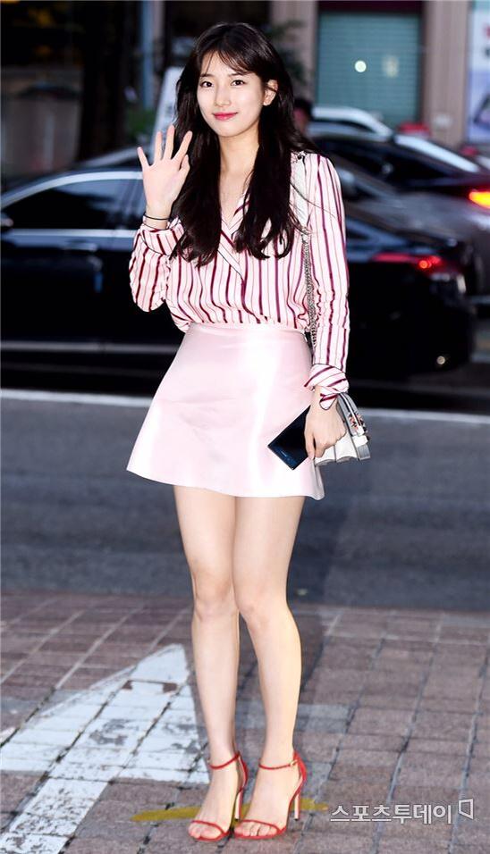 키 큰 여자연예인 (수지)