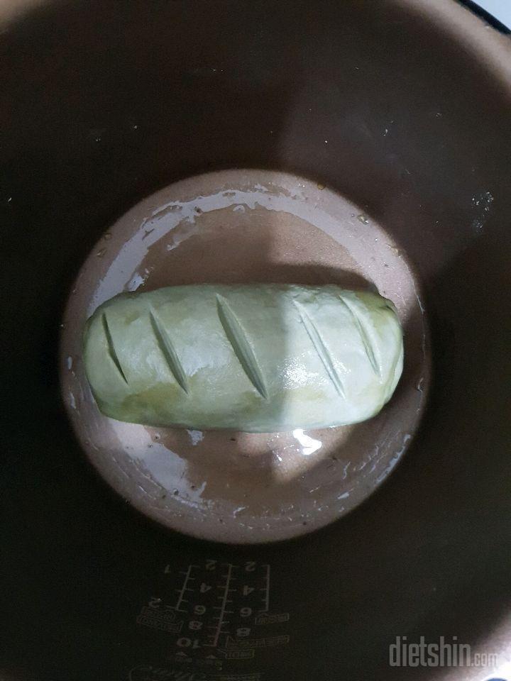 [밥통]무첨가녹차통밀식빵
