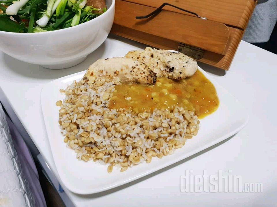 카레(곤약귀리밥, 어린이용 카레)