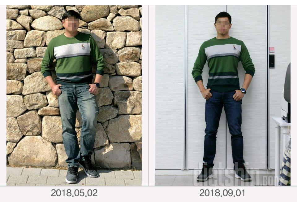 3개월간 -22kg. 그리고 4개월째 유지중...