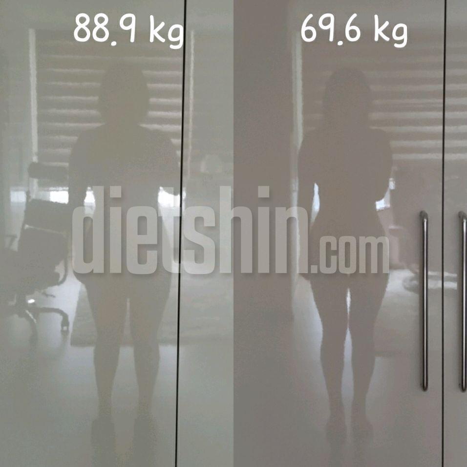 &lt\;추가!&gt\;2018.07.29~2018.12.04 약 -20kg감량 (중간점검)