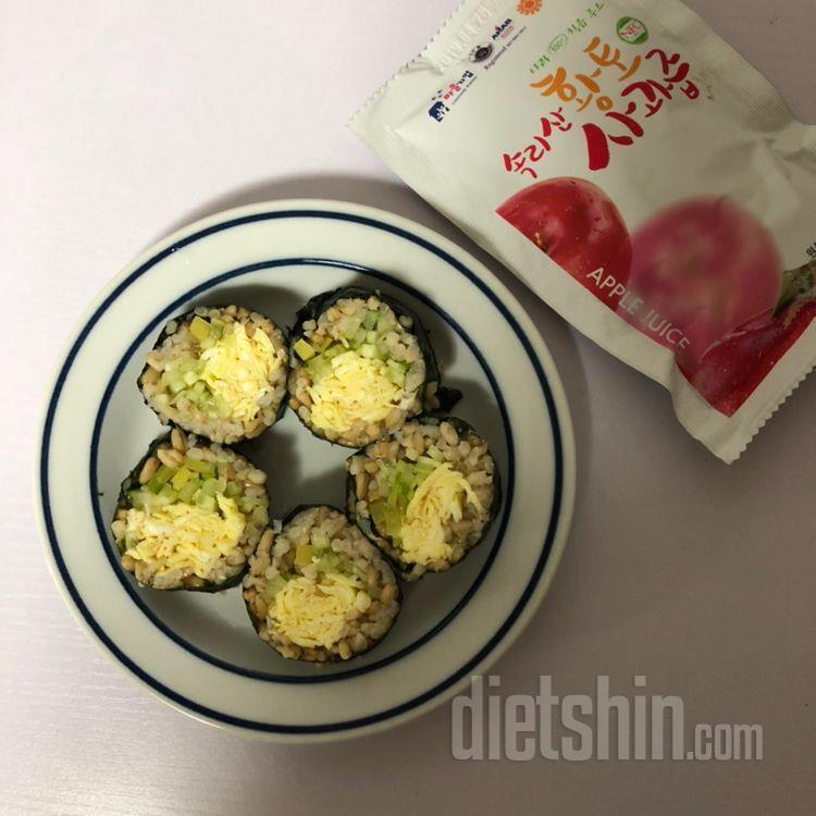밥이곤약 김밥 (교리김밥st)