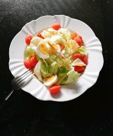 삶은달걀 샐러드