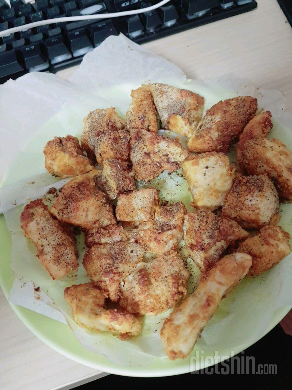카레 닭가슴살 닭안심 구이