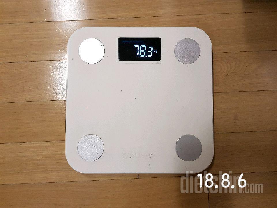 78kg에서 68kg  5개월