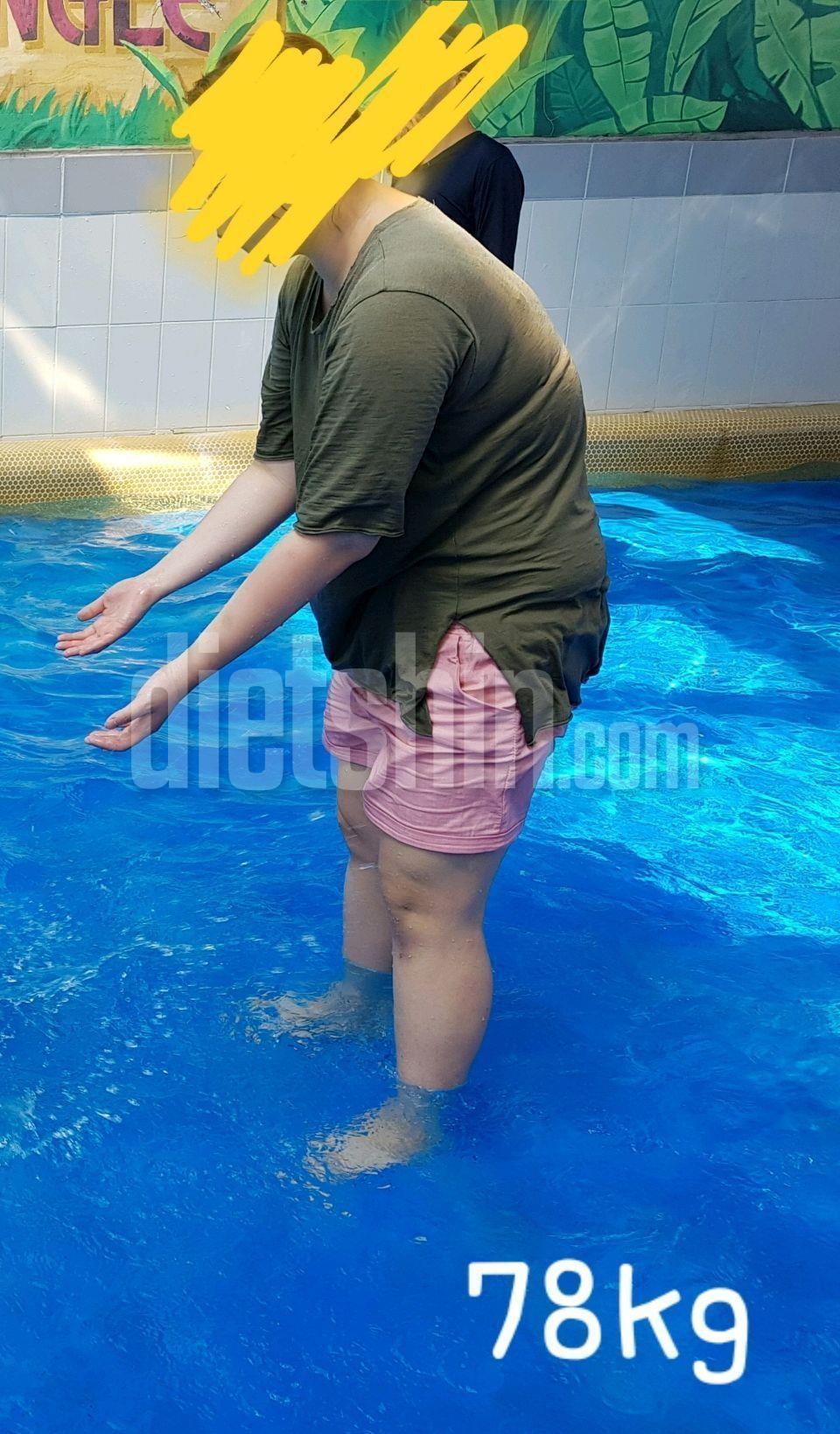 168/78kg에서 68kg  5개월