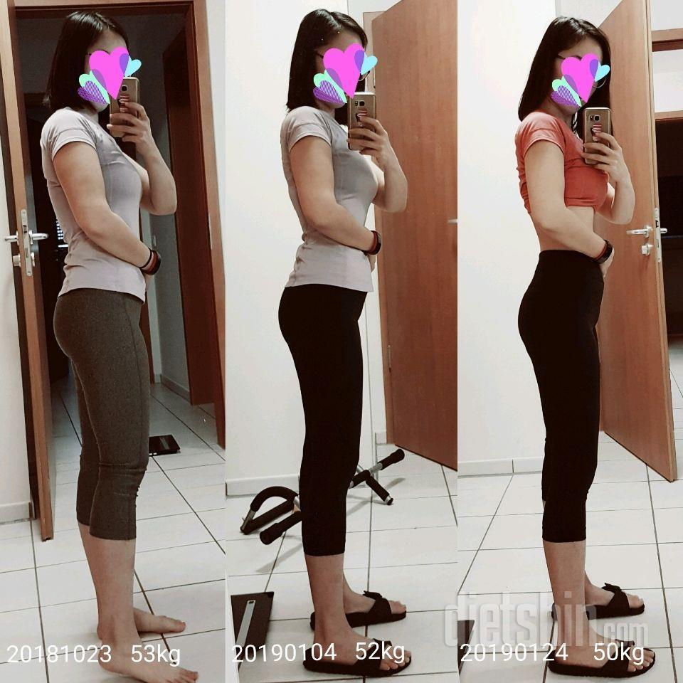 159cm, 63\---&gt\;50kg 성공후, 셋째출산 다시 63\--\--&gt\;50kg