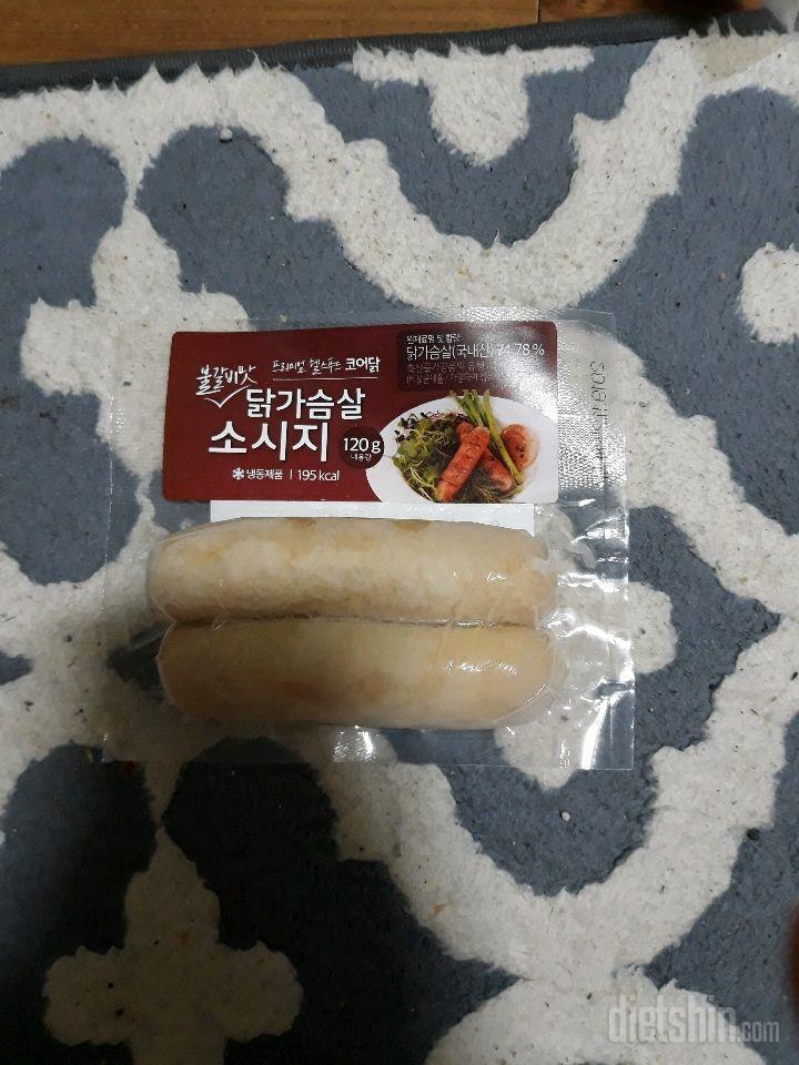 코어닭 소시지 신제품 3종 맛후기에요!