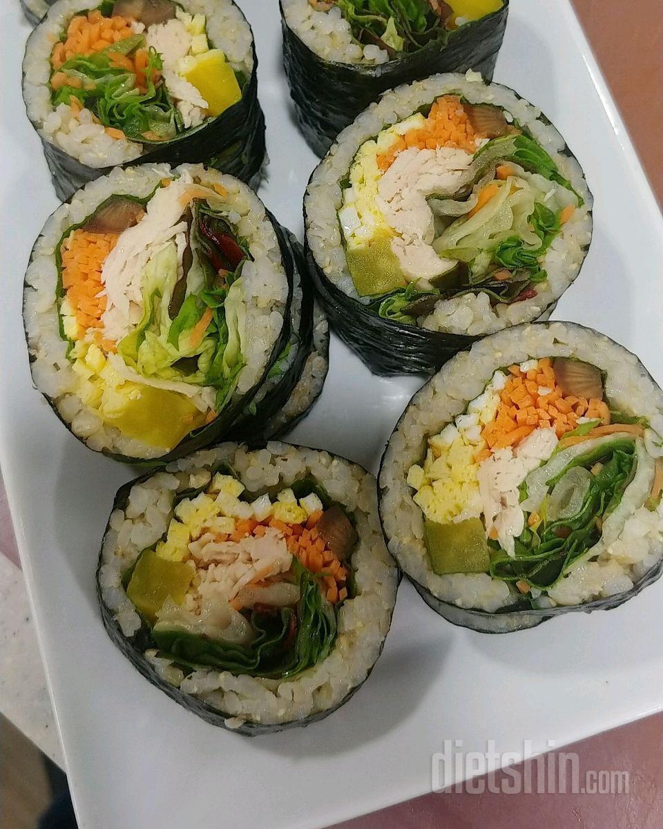 현미밥김밥