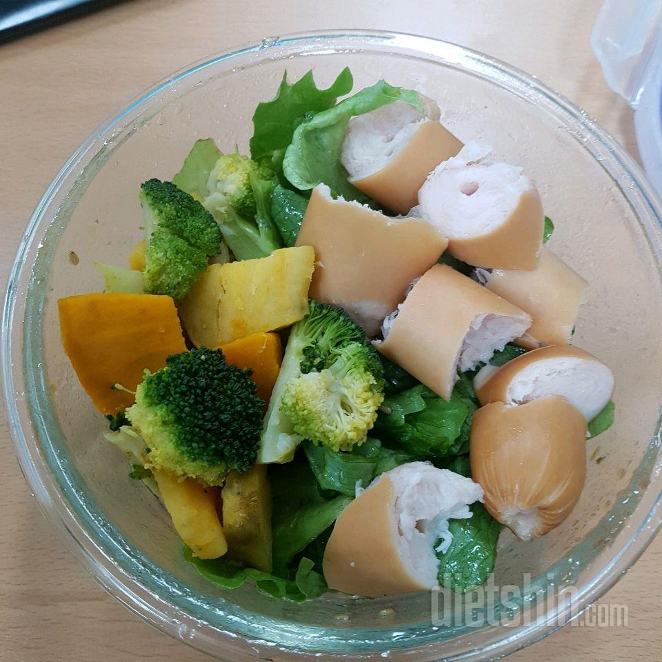 수,목,금 점심! 단호박,브로컬리,고구마 소분 후 냉동 개꿀