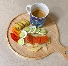 아침 공복 운동 후 먹는 꿀맛 아점