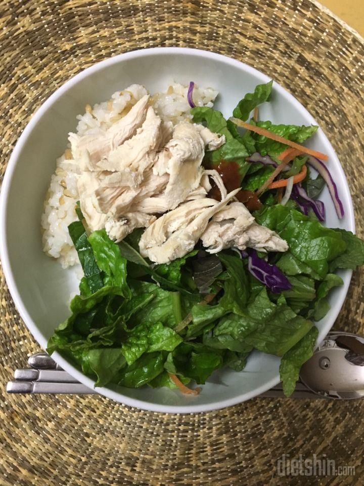 닭가슴살야채비빔밥