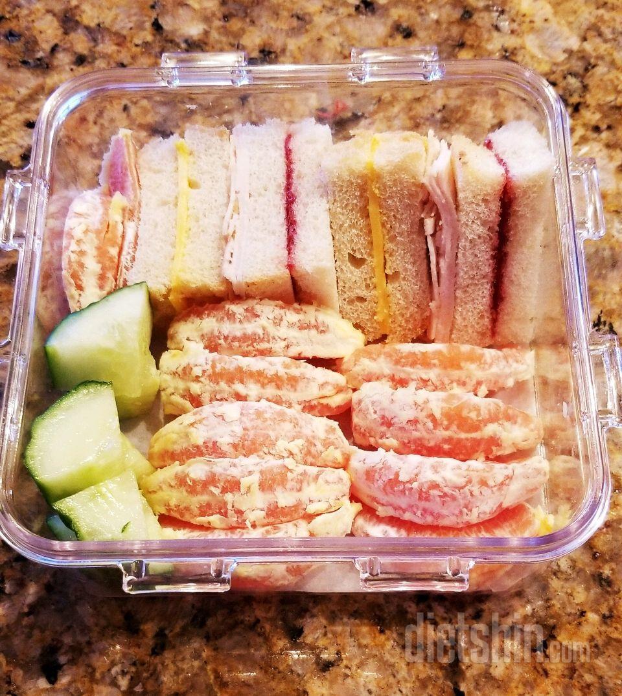 180 칼로리 점심 도시락!🍱