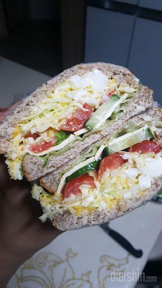 점심 샌드위치