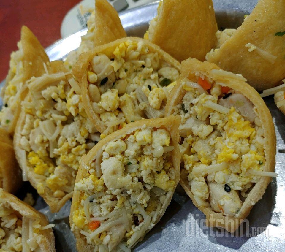 특제도시락 밥 안들어간 유부초밥