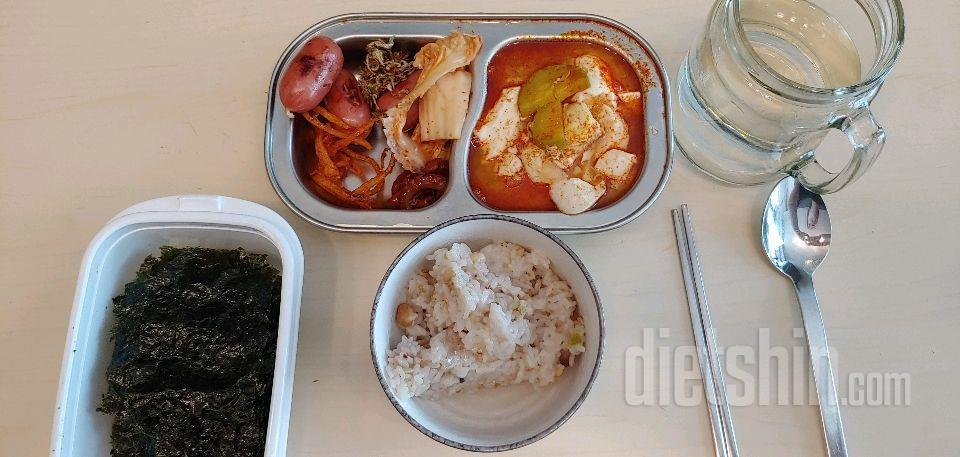 순두부찌개 점심