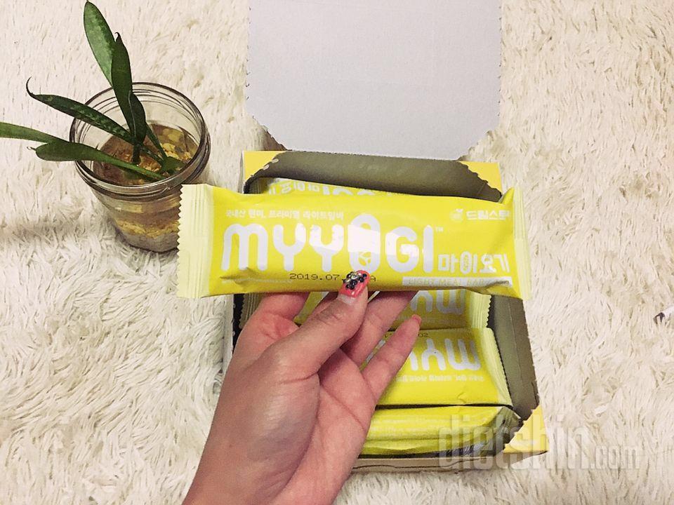 왔다❗️견과류듬뿍 영양만점 마이요기 라이트바:)