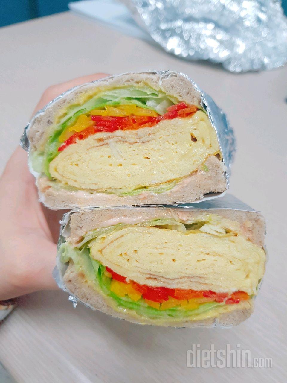 타마고산도 샌드위치