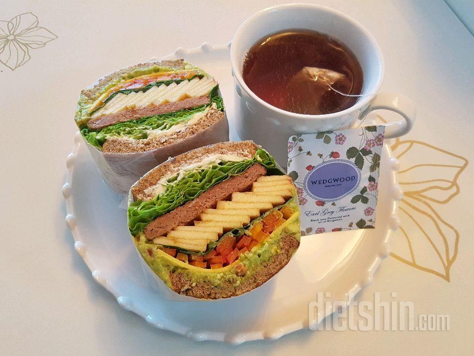 홈메이드 샌드위치