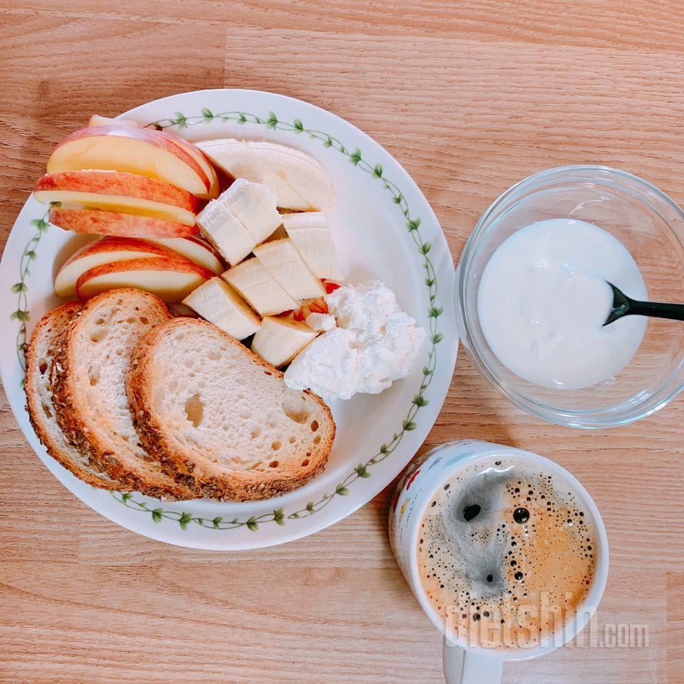 아침 식단