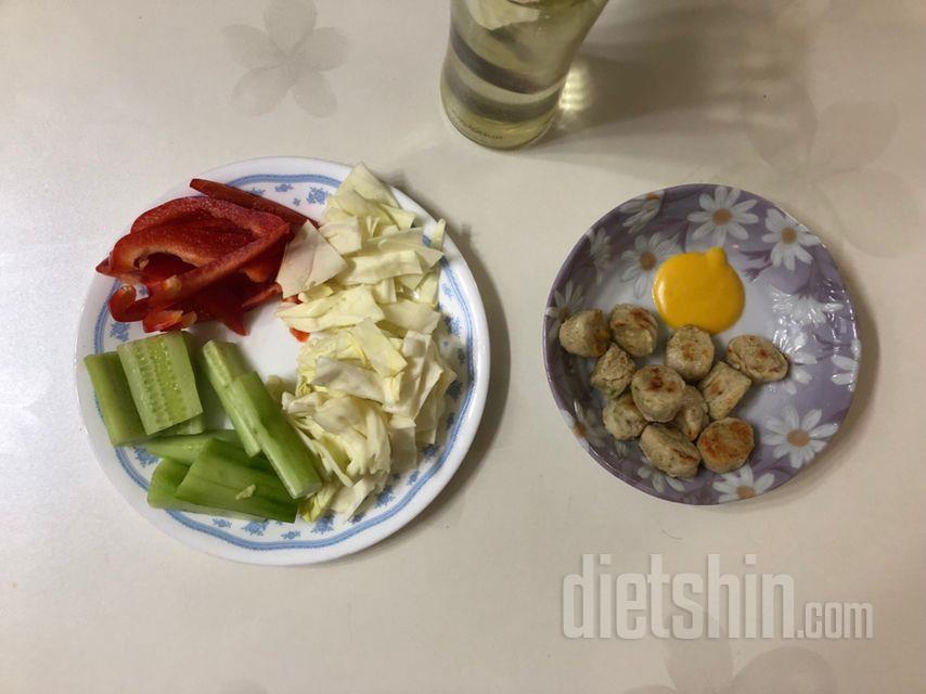 저녁 식단
