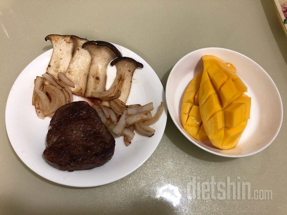 유지어터 아침 식단