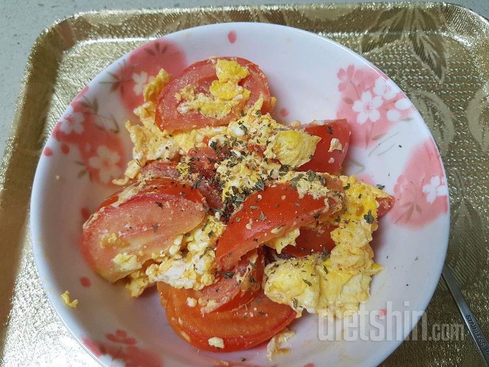 토마토 달걀 볶음