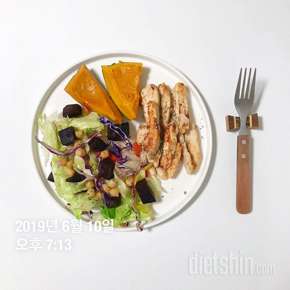 저녁은 300칼로리 미만으로 단백질+식이섬유