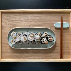 묵은지오징어현미김밥