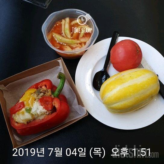 오늘은현미밥 체험3번째맛 [우둔살2]