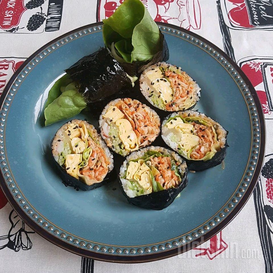 현미야채김밥