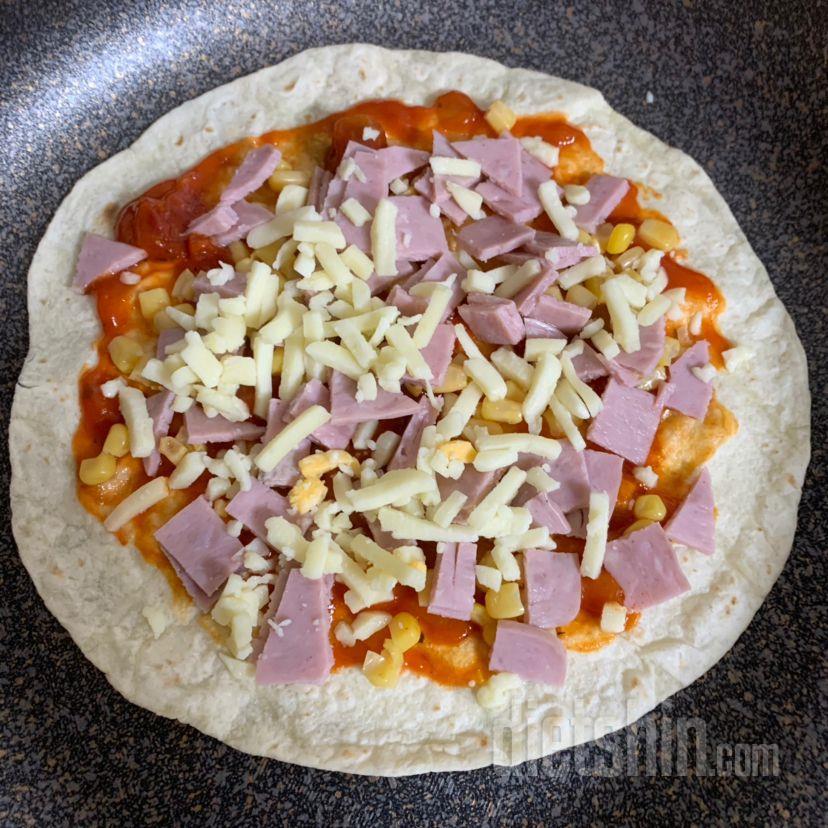 또띠아 고구마 피자!!!
