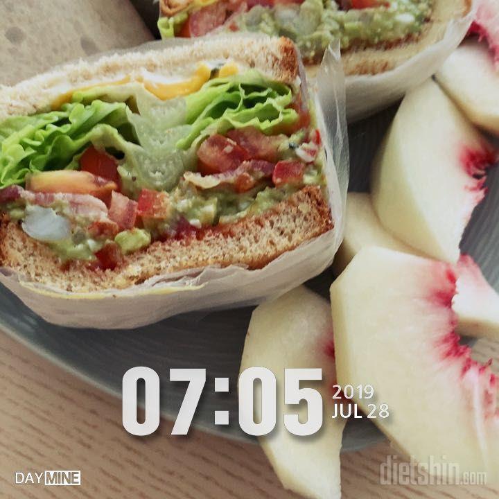 아침 다이어트 샌드위치 모음 !