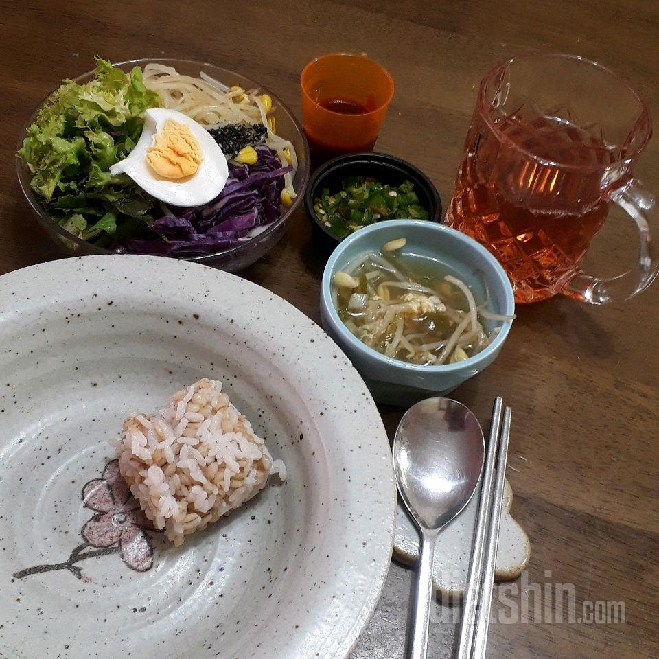콩나물 야채비빔밥~^^