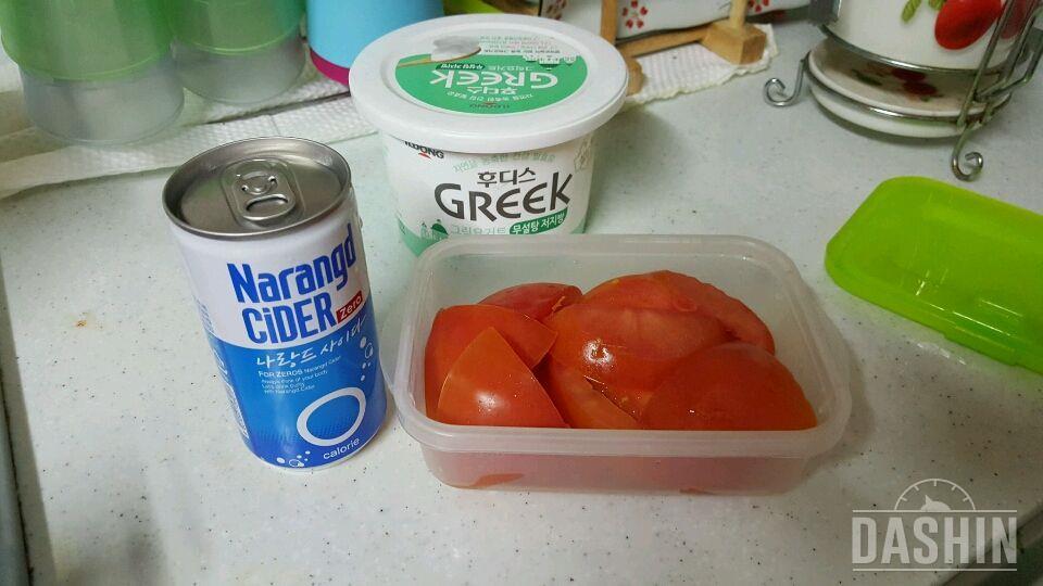 토마토 요거트 에이드(43kcal)