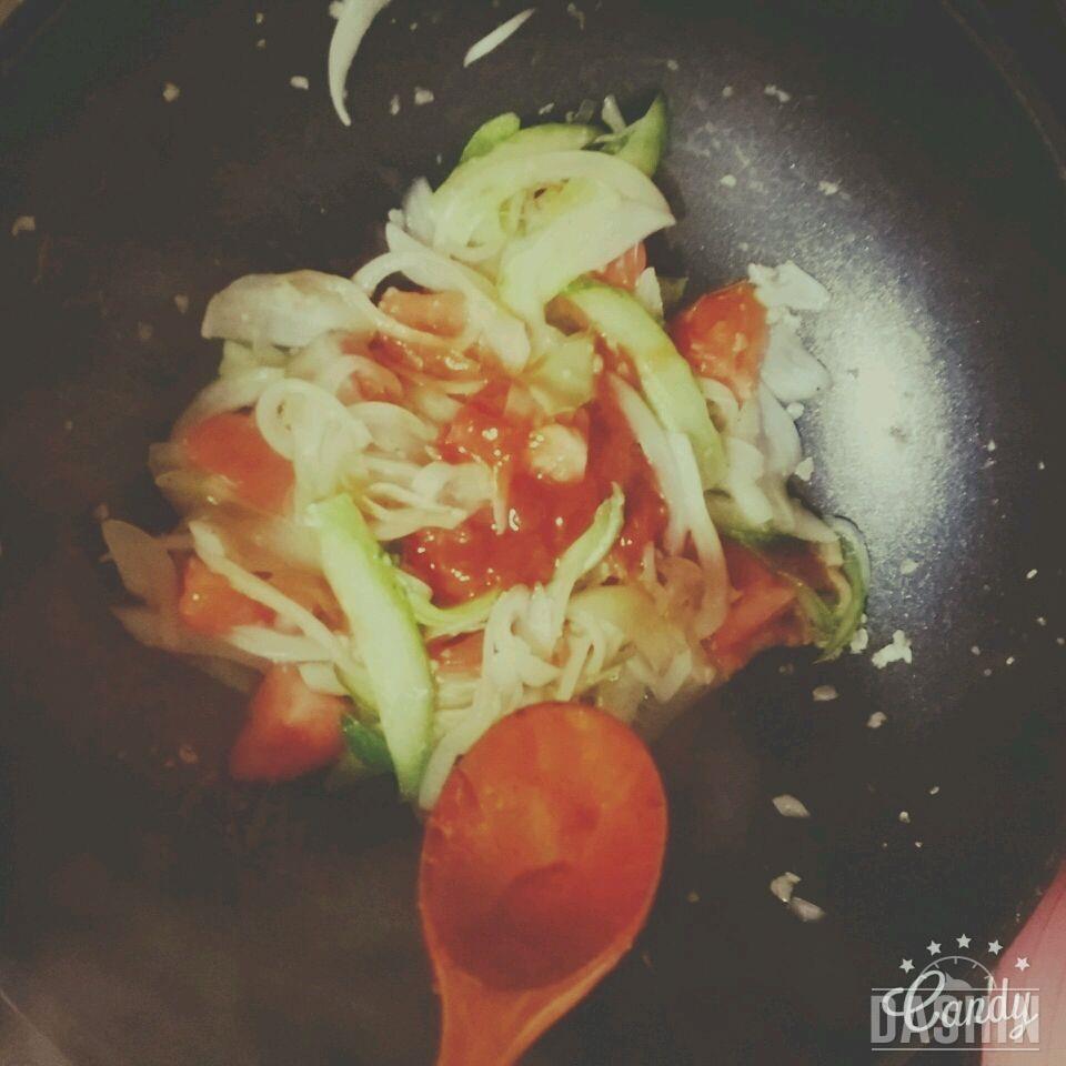 팽이버섯 토마토파스타