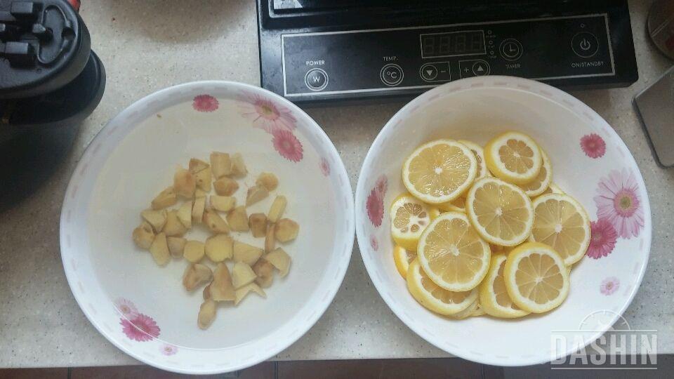 레몬생강 디톡스