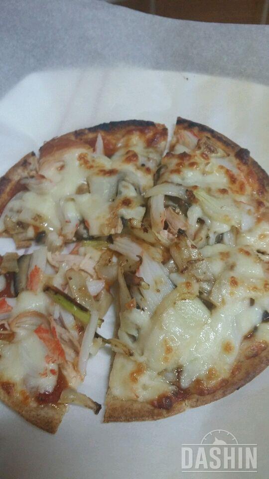 또띠아 피자