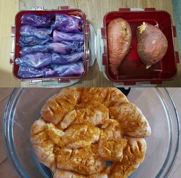 레이양 다이어트 식단 (저염식 식단)