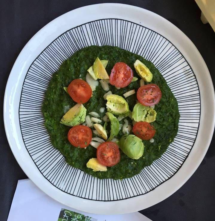 식물성 섬유질 풍부한 건강한 `시금치 피자 `!