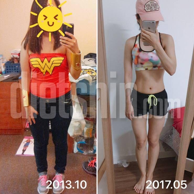 3년간 다이어트로 체중 40kg대로 진입한 비법!