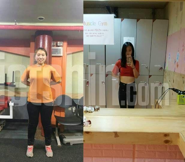 식이조절과 운동만으로 14kg 뺀 체중감량기!