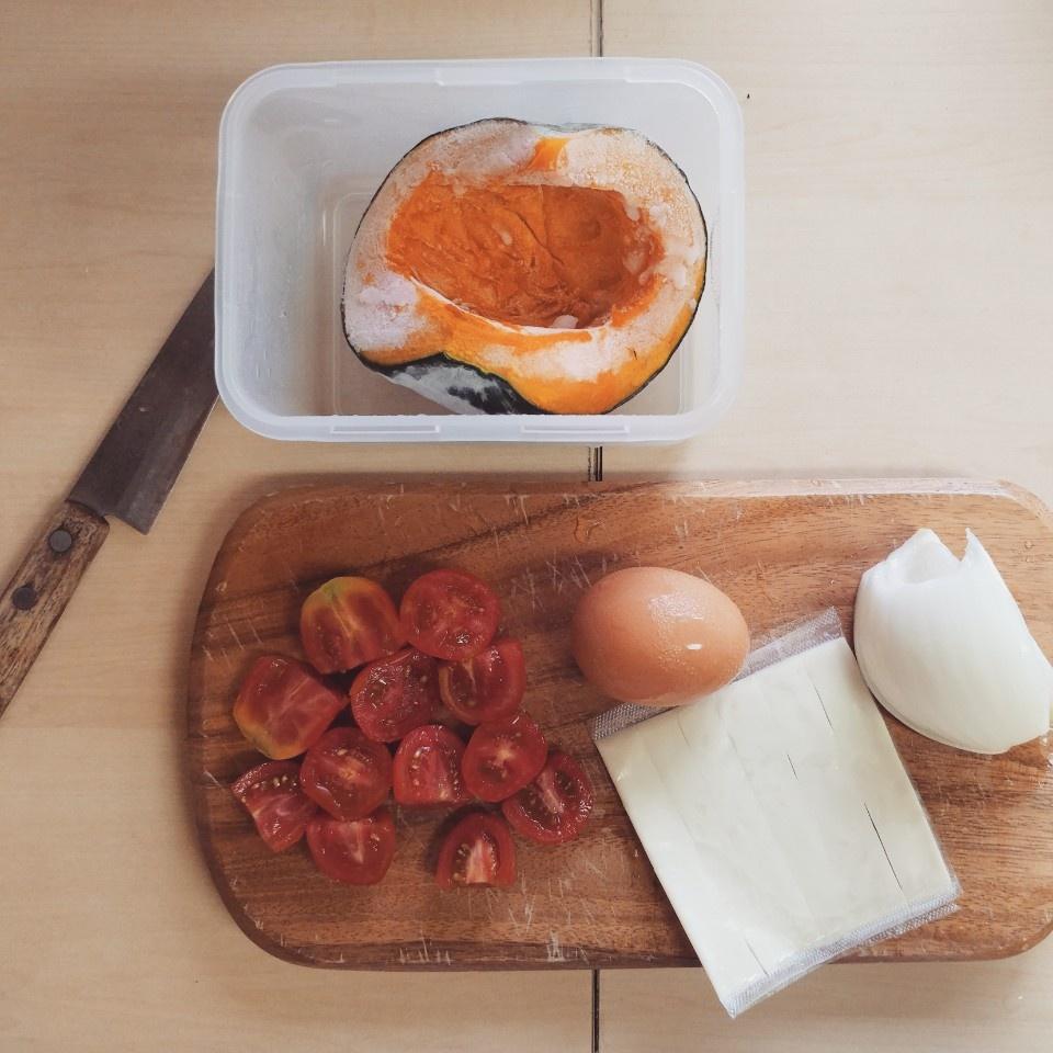 토마토 에그슬럿 단호박보울