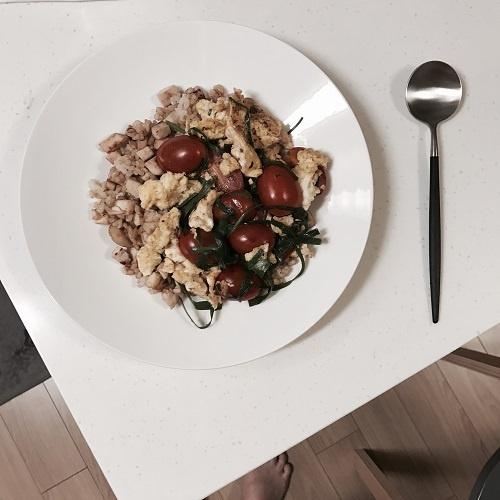 토달볶&닭가슴살마늘덮밥