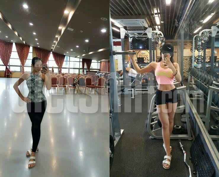 운동으로 체지방 11kg감량, 대학생→스포츠모델로!