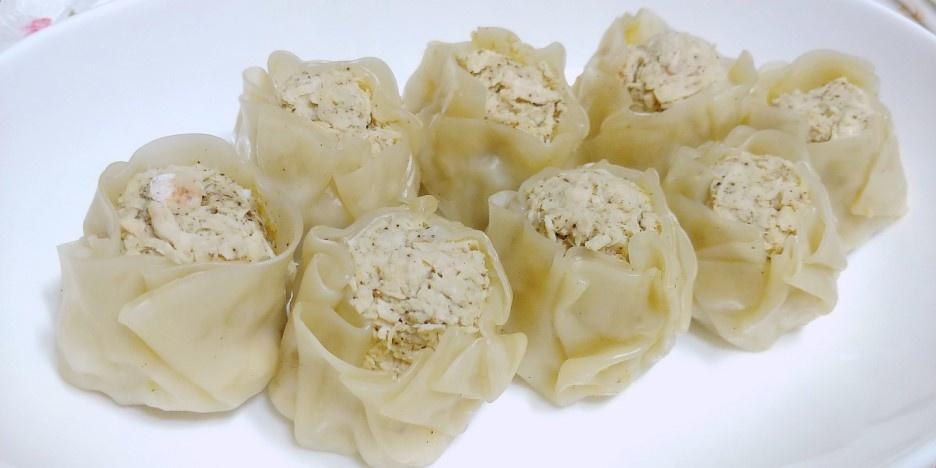 [공모전2] 닭가슴살새우만두 (키무룩표 다이어트만두)